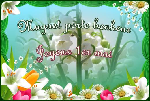 Muguet porte bonheur, Joyeux 1er mai