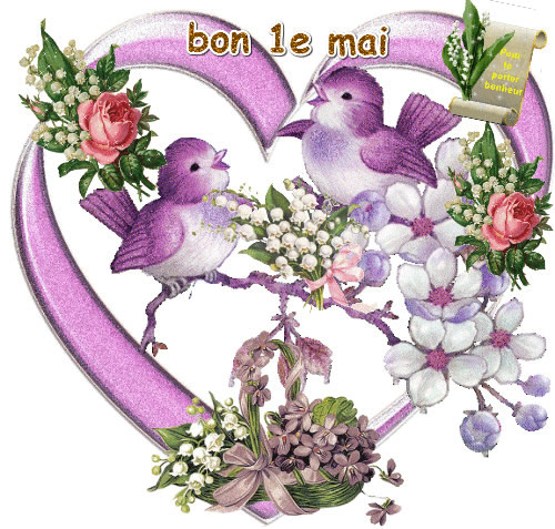 Bon 1e mai image 4596 bonnesimages - Images coeur gratuites ...