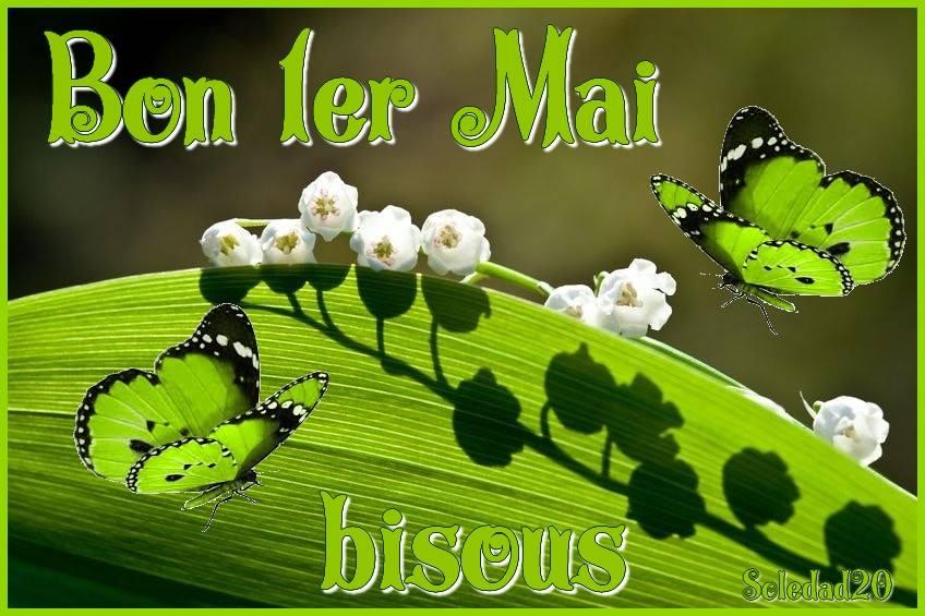 Bon 1er Mai, bisous