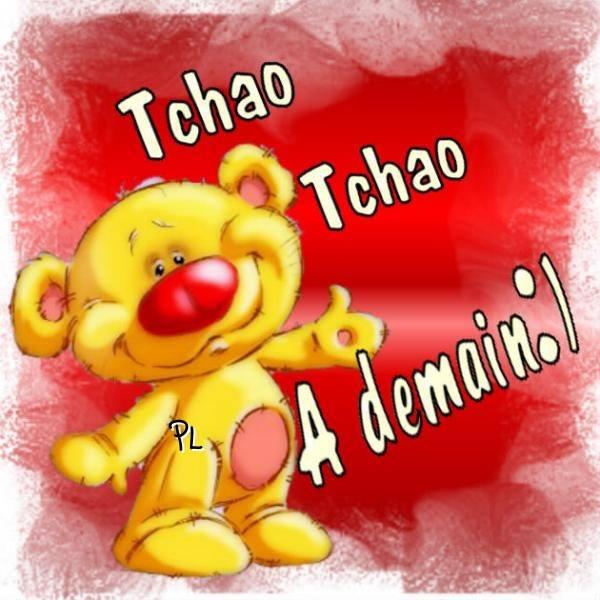 Tchao Tchao À demain :)