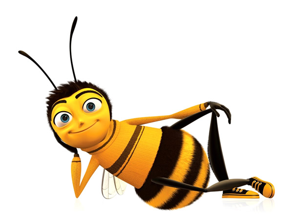 Abeille dessin animé bee movie barry