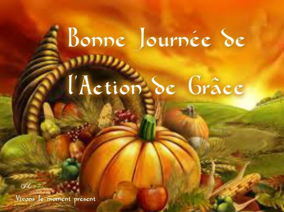 Bonne Journée de l'Action de Grâce