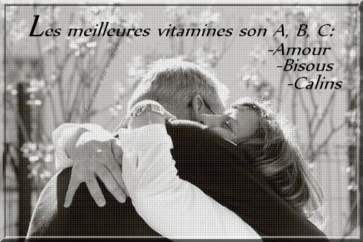 Les meilleures vitamines sont A, B, C...