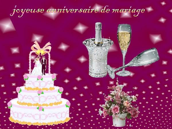 Anniversaire de mariage image 1