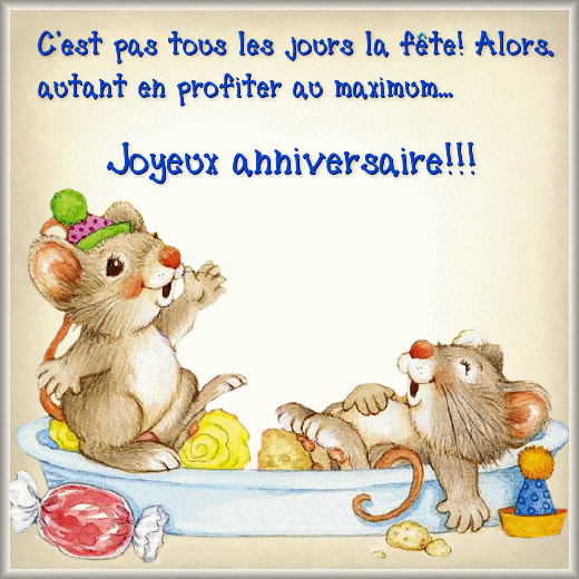 Gut gemocht Anniversaire images, photos et illustrations pour facebook DG76