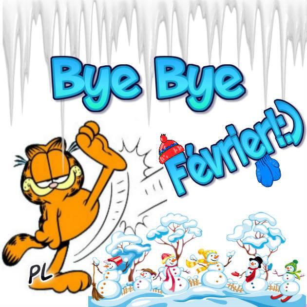 Bye Bye Février ! :)