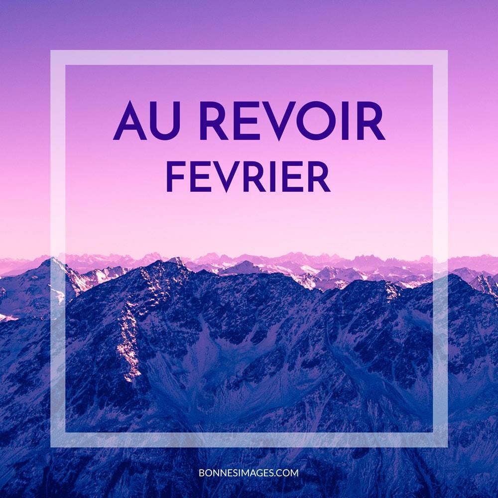 Au Revoir Février image #8400