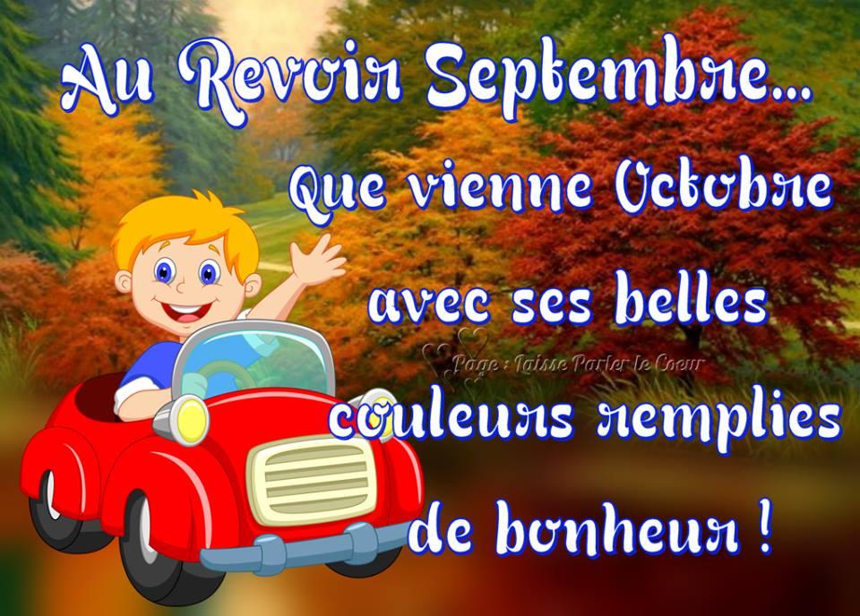 Au Revoir Septembre... Que...