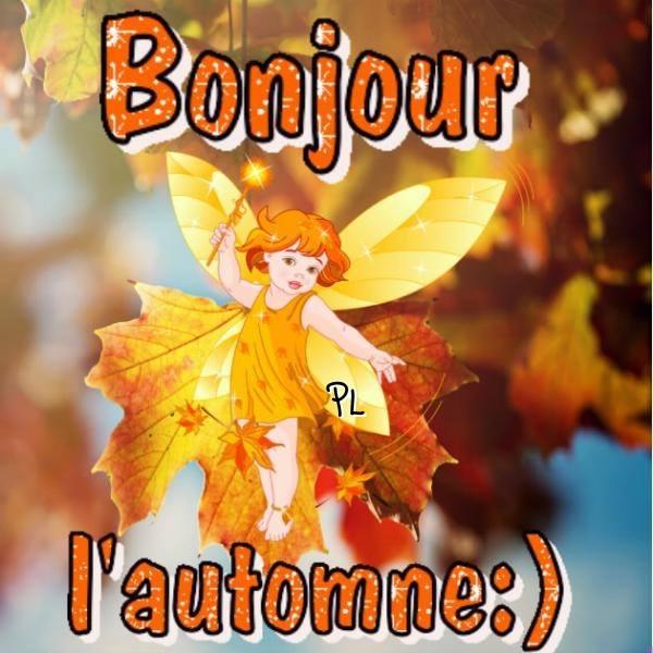 Bonjour l'automne :)