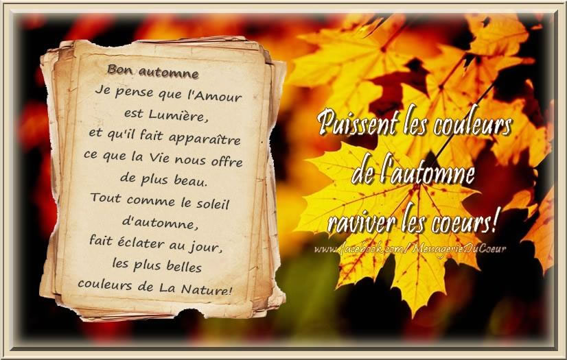 Bon autumne