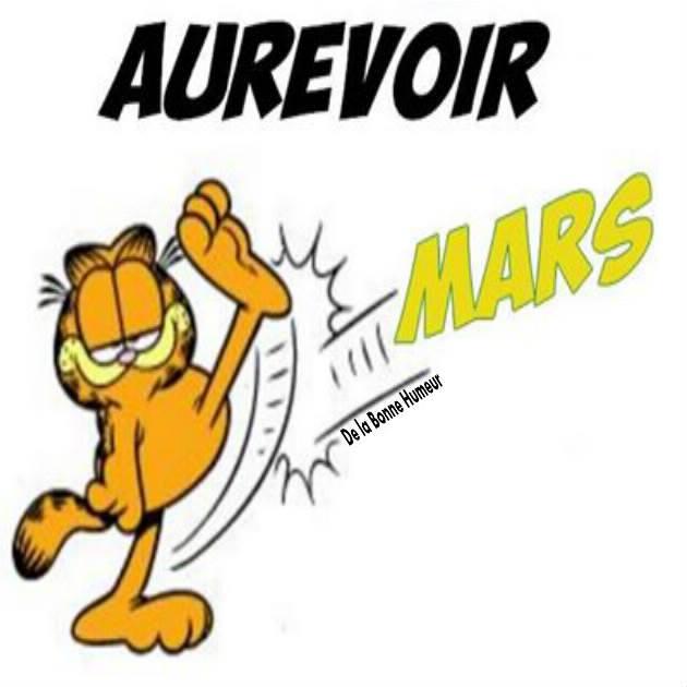 Aurevoir Mars!