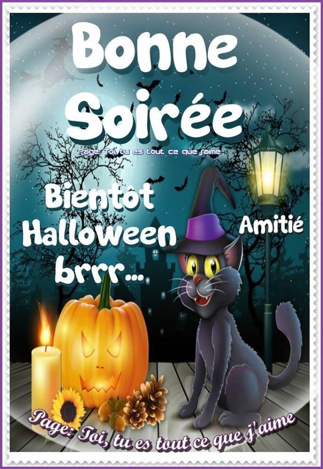 Bonne Soirée Bientôt Halloween brrr...