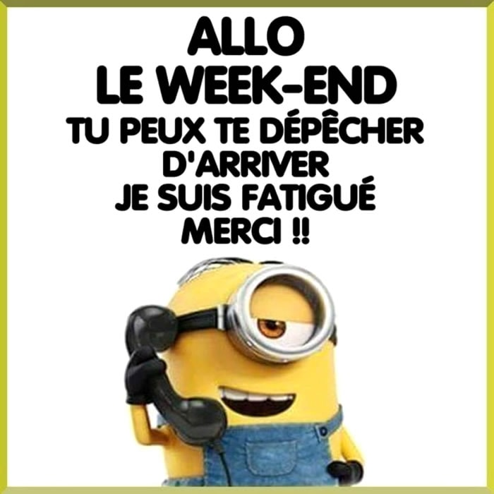 Allo Le Week-End Tu peux te...