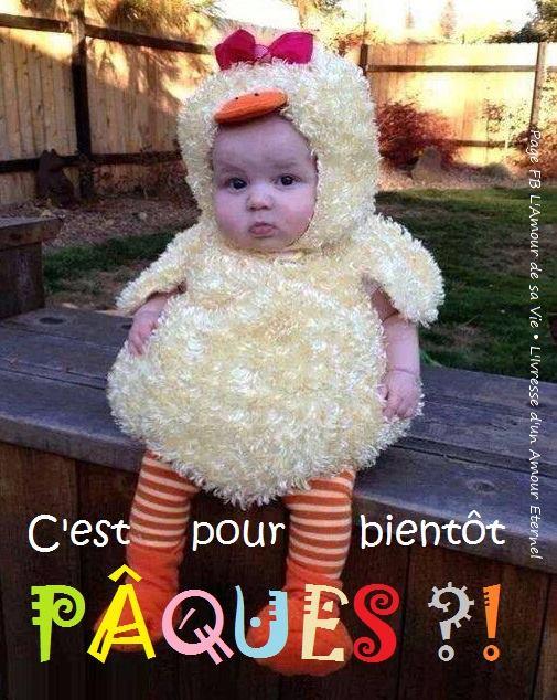 C'est pour bientôt Pâques ?!