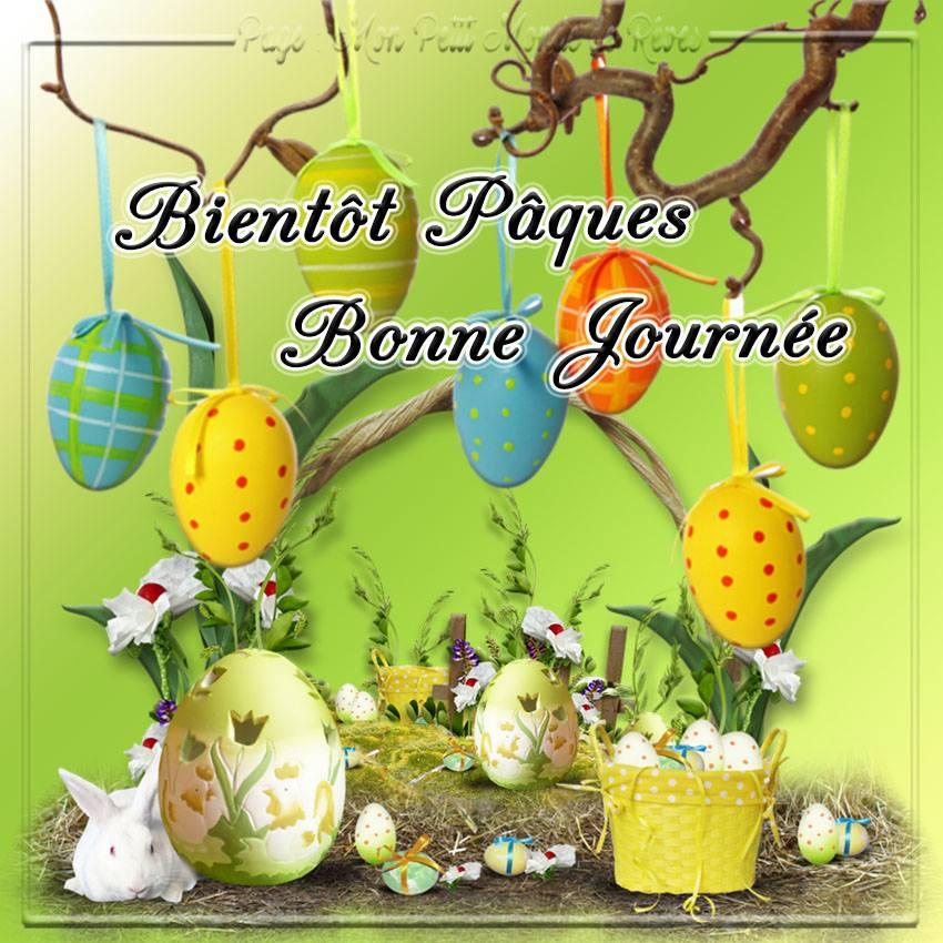 Bientôt Pâques, Bonne Journée