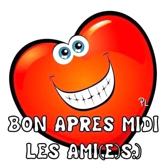 Bon Après Midi les Ami(e)s :)