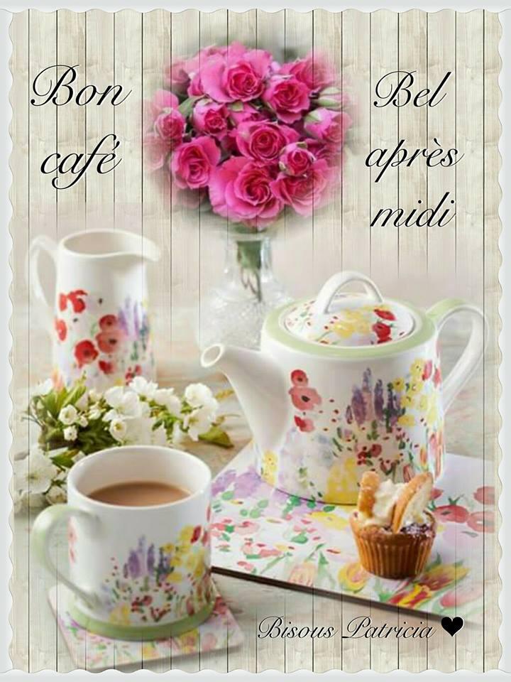 Bon café. Bel après midi