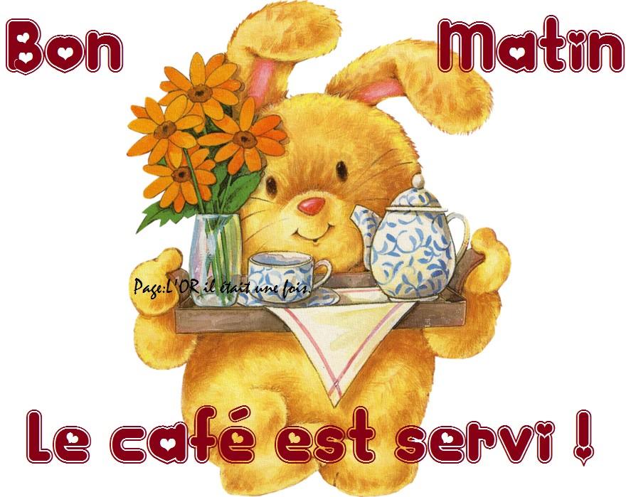 Bon Matin, le café est servi !