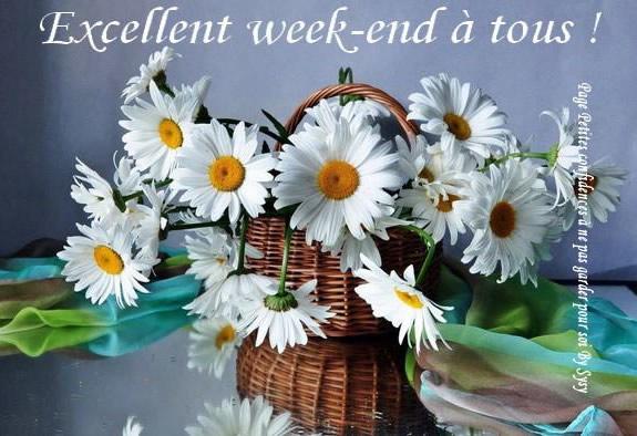 Excellent week-end à tous!