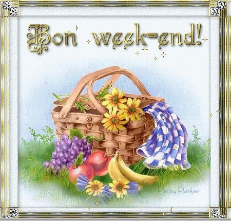 Bon week-end!