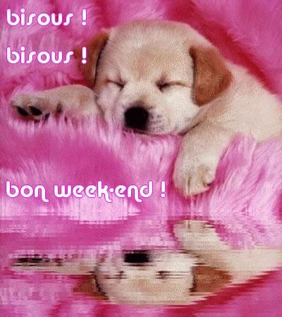 bisous! bisous! bon week-end!