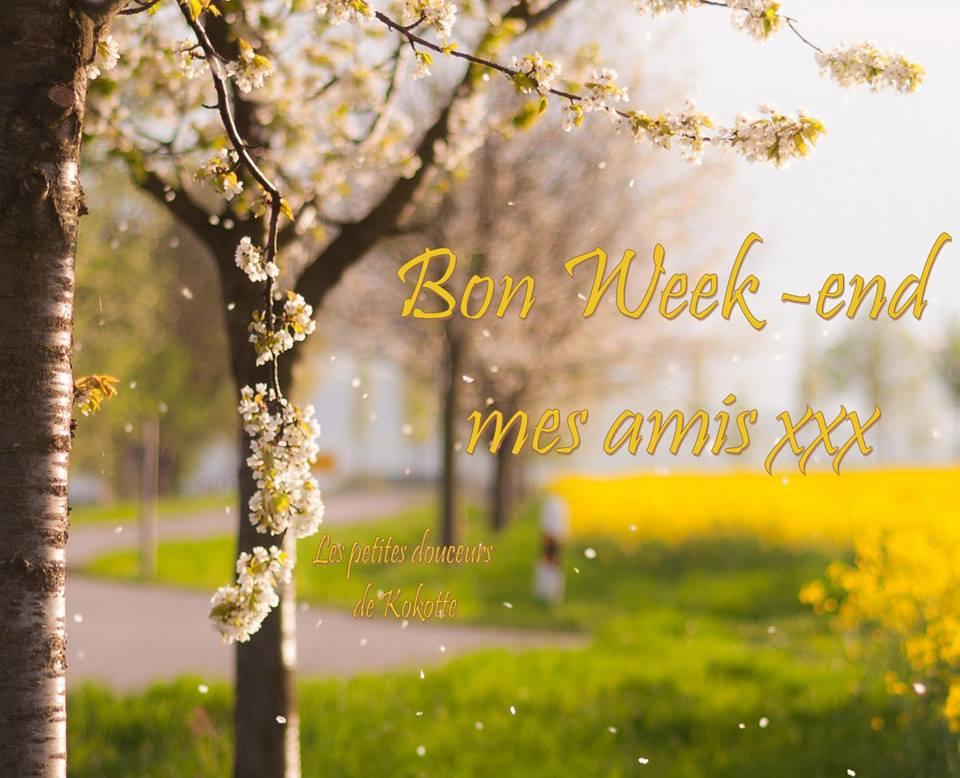 Bon Week-end mes amis xxx