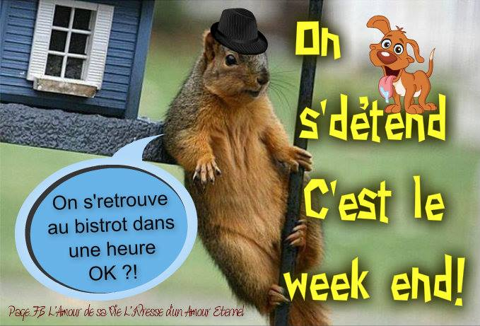 On s'détend, C'est le week end!