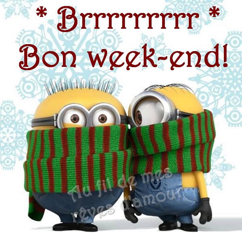 Brrrrrrr Bon week-end!