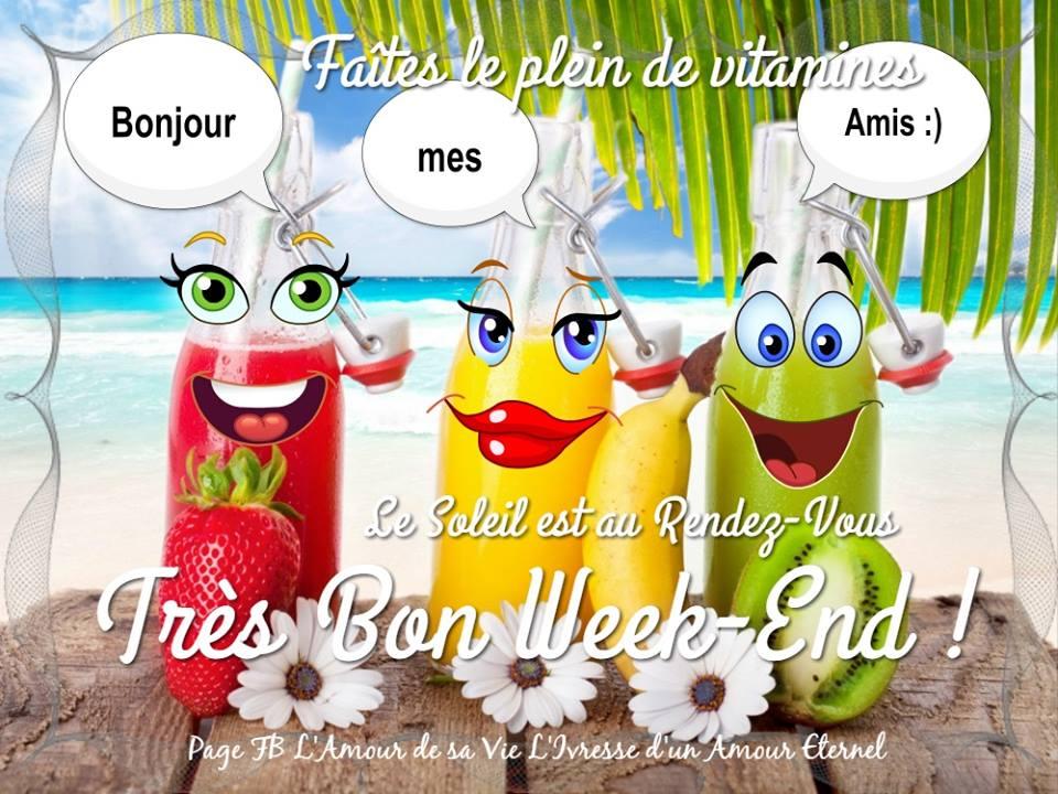 Bonjour mes amis :) Très bon week-end !