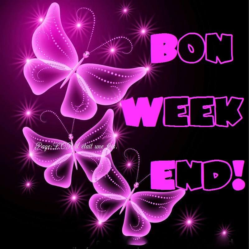 Bon week end !