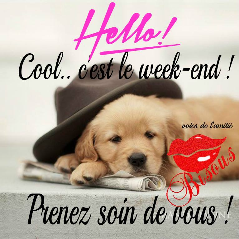 Cool... c'est le week-end !