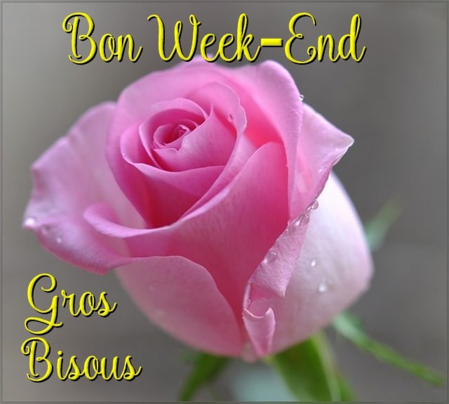 Bon Week-End Gros Bisous