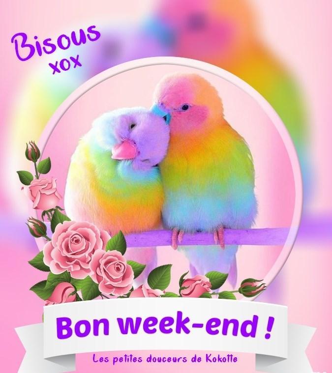 Bon week-end! Bisous xxx