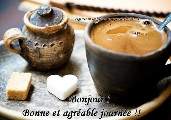 Bonjour! Bonne et agréable journée!