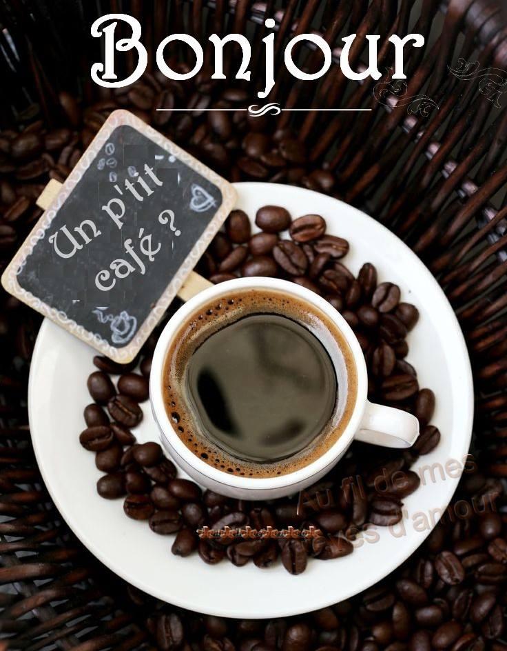 Bonjour. Un p'tit café?