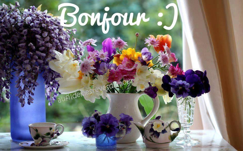 Bonjour :)