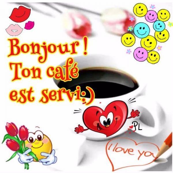 Bonjour ! Ton café est servi :)