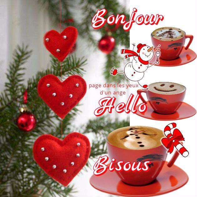 Bonjour, Hello, Bisous
