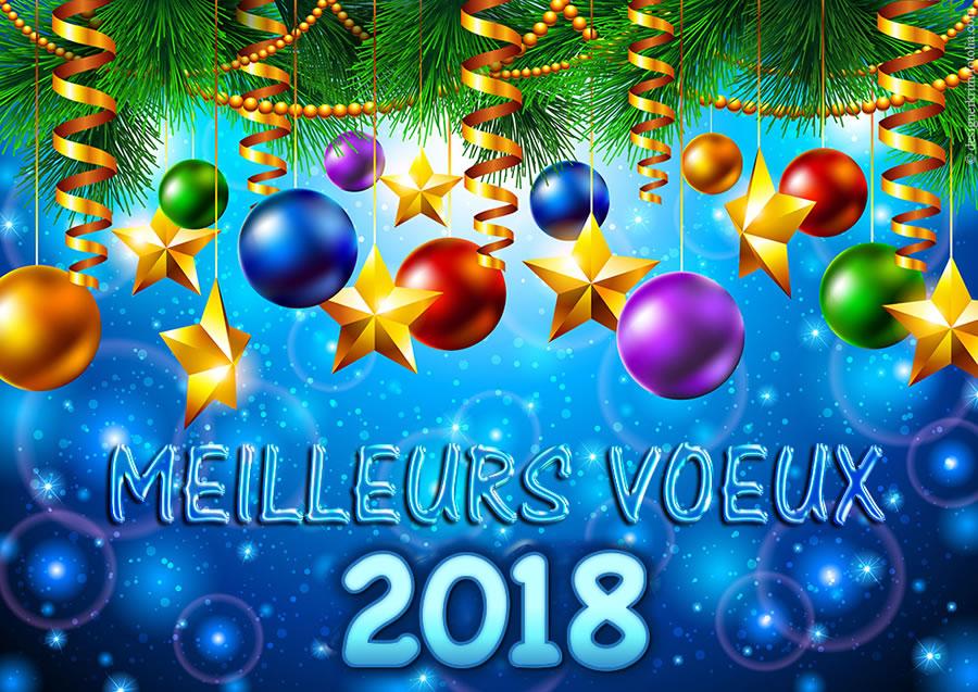 Bonne annee 2018 - Belles images bonne annee ...