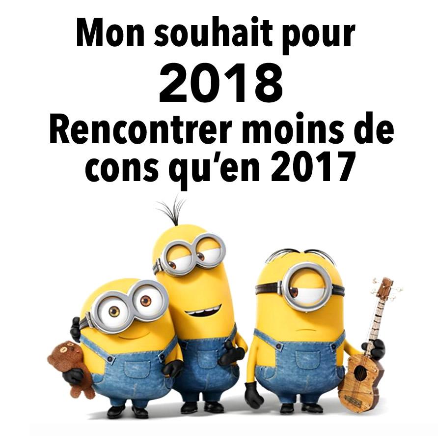 """Résultat de recherche d'images pour """"bonne année 2018 humour"""""""