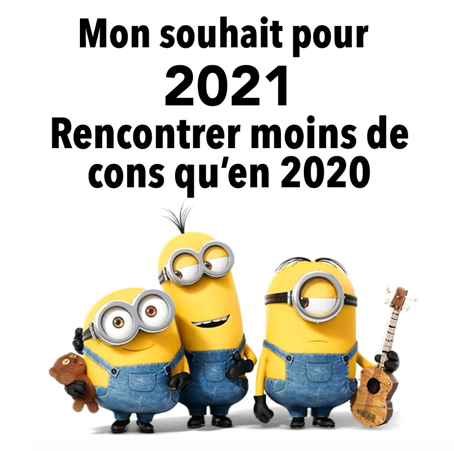 Mon souhait pour 2021... Rencontrer...