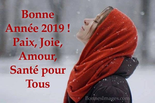 Bonne Année 2019 ! Paix, Joie, Amour, Santé pour Tous