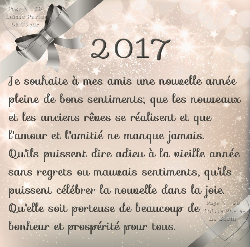 Bonne année 2017 image 1