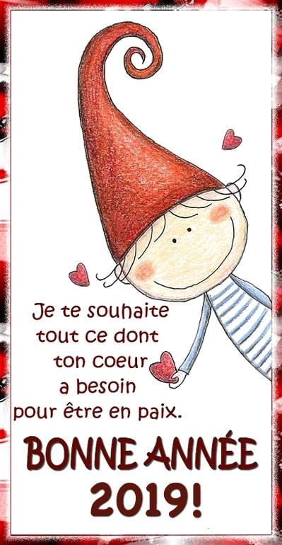Je te souhaite tout ce dont ton cœur...