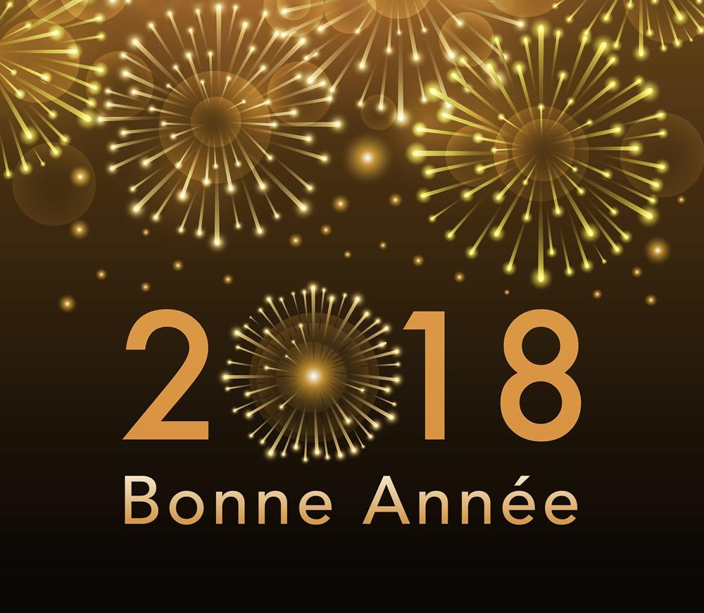 Bonne année 2018 image 1
