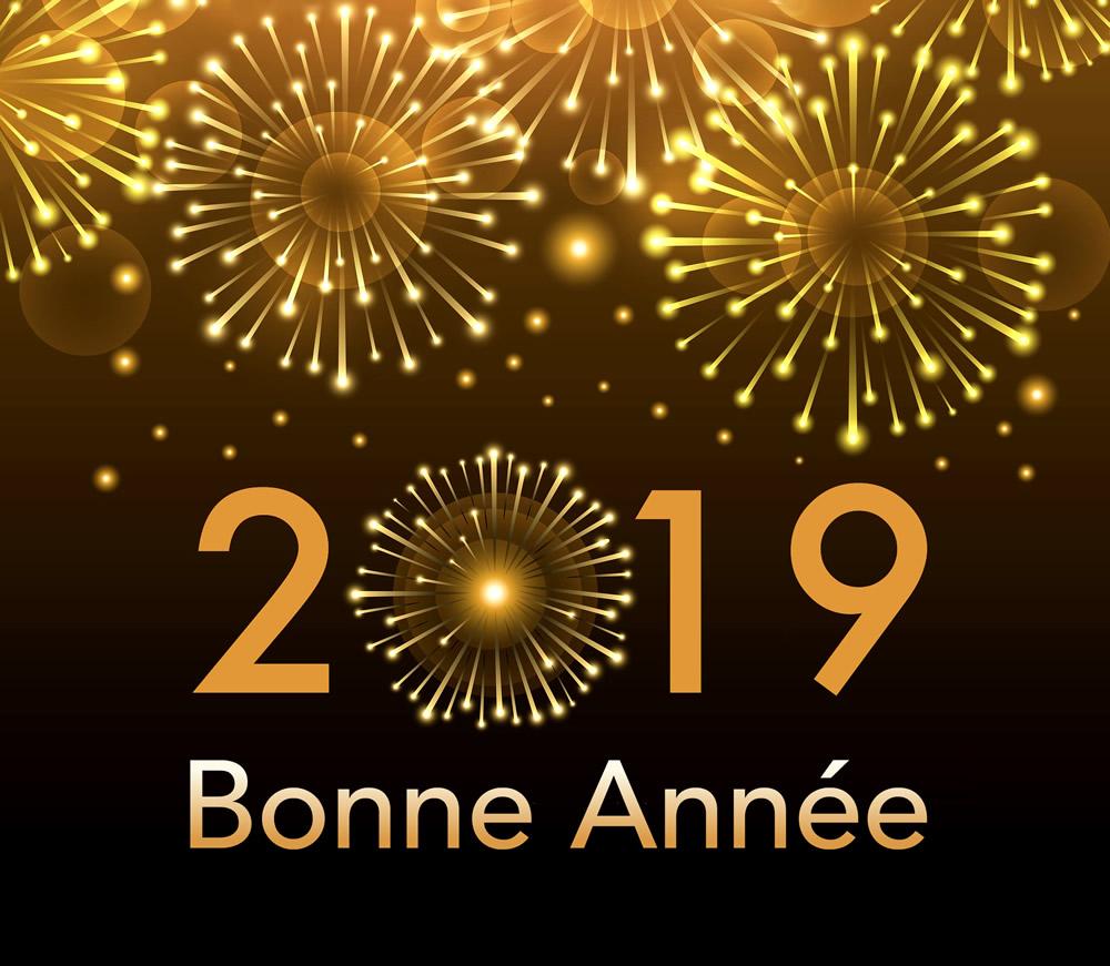 Bonne Année 2019 image 4