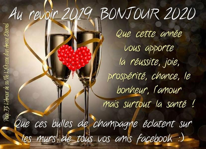 Au revoir 2019, Bonjour 2020