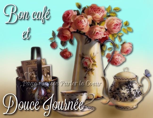 Bon café et douce journée