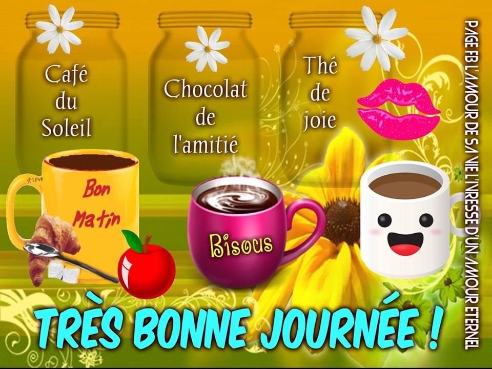 Café du Soleil, Chocolat de l'amitie, Thé de joie