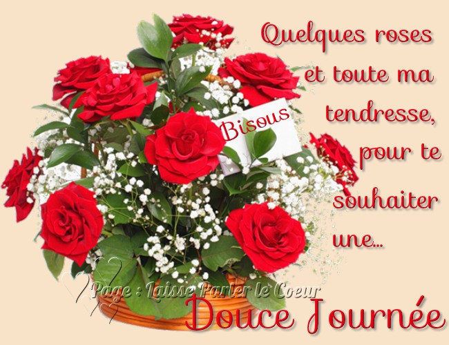 Douce journ e image 6344 bonnesimages for Bouquet de fleurs 8 mars